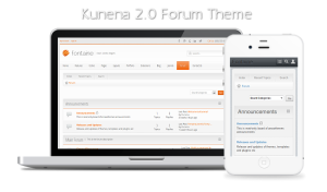 Fontaine: A Clean Responsive Joomla Template & Kunena 2.0 Forum Theme