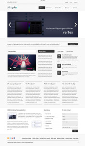 Simplex WordPress Theme