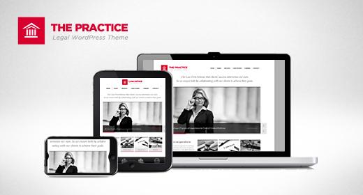 The Practice Responsive WordPress Theme