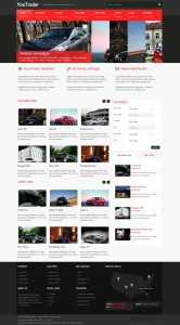 YouTrader Responsive Joomla Car Template