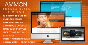 Ammon Joomla Template