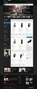 JM Sterix Magento eCommerce Theme for Mobile Accessories Products!