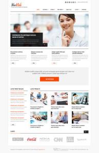 YouVida Responsive Joomla Business Template