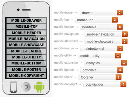Clarion WordPress Theme Mobile Positions