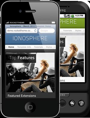 Ionosphere Responsive WordPress Theme
