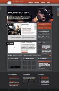 Ionosphere WordPress iPhone Theme
