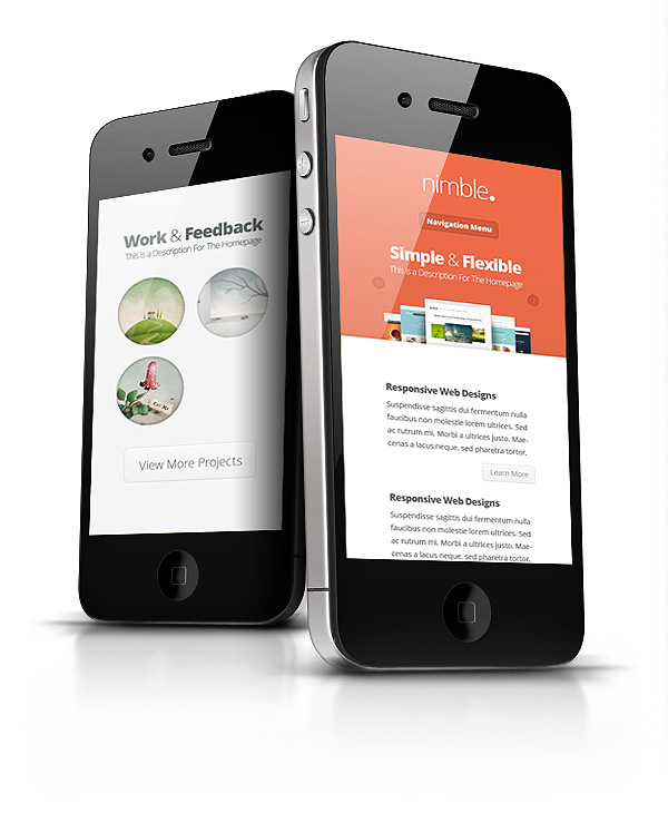 Nimble WordPress Responsive Web Design Theme