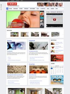 ZT News 4 Responsive Joomla Magazine Template & K2 CCK Support