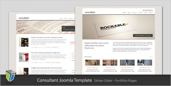 Consultant Business Joomla Template