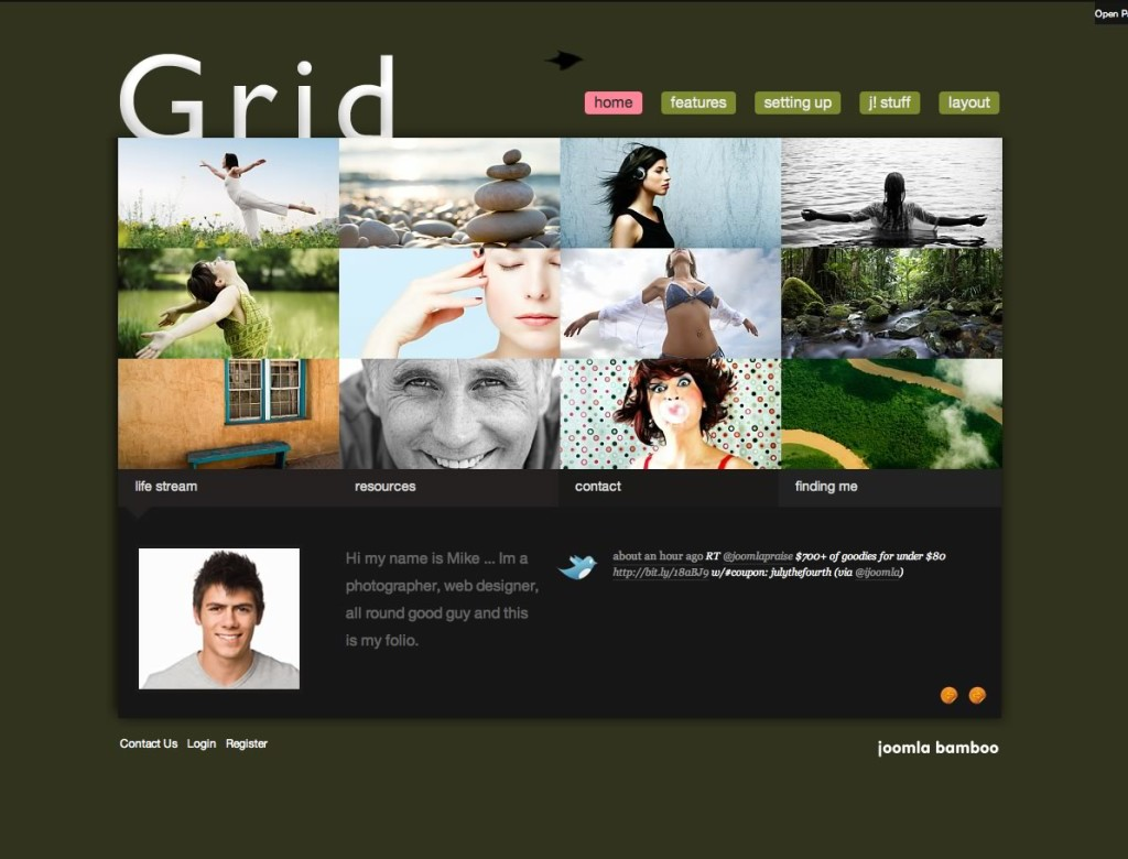 Grid - Photo Magazine Template