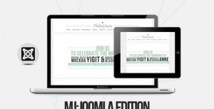 MJ Joomla One Page Template
