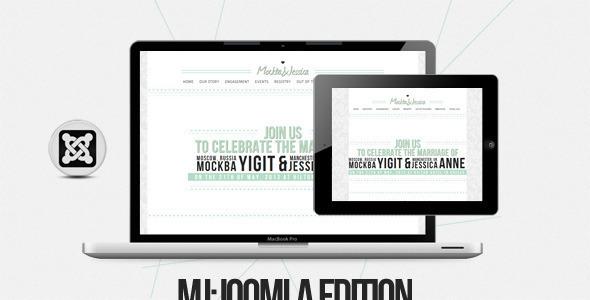 MJ Joomla One Page Template