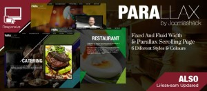 Parallax Scrolling Page Template for Joomla 3.0 R3ADY!