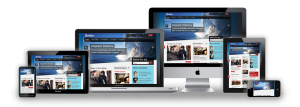 Cerulean Responsive Joomla Template in 3-Dimensional Style Design