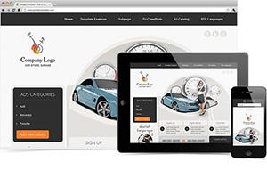 DJ Car Company Responsive Joomla Template