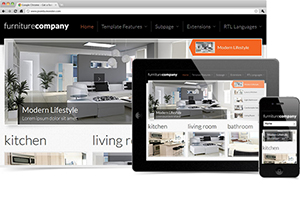 JM Exclusive Furniture Joomla Template