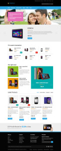 JM Neros Responsive Magento Theme for Christmas Season Products!