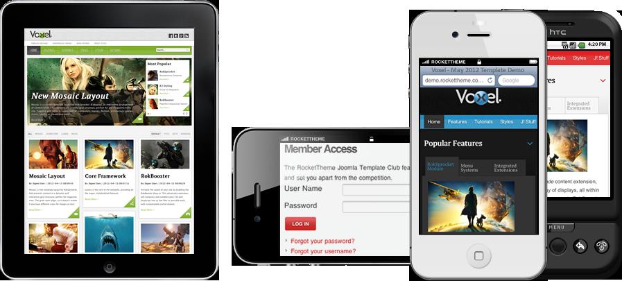 Voxel Mobile WordPress Magazine Style Theme