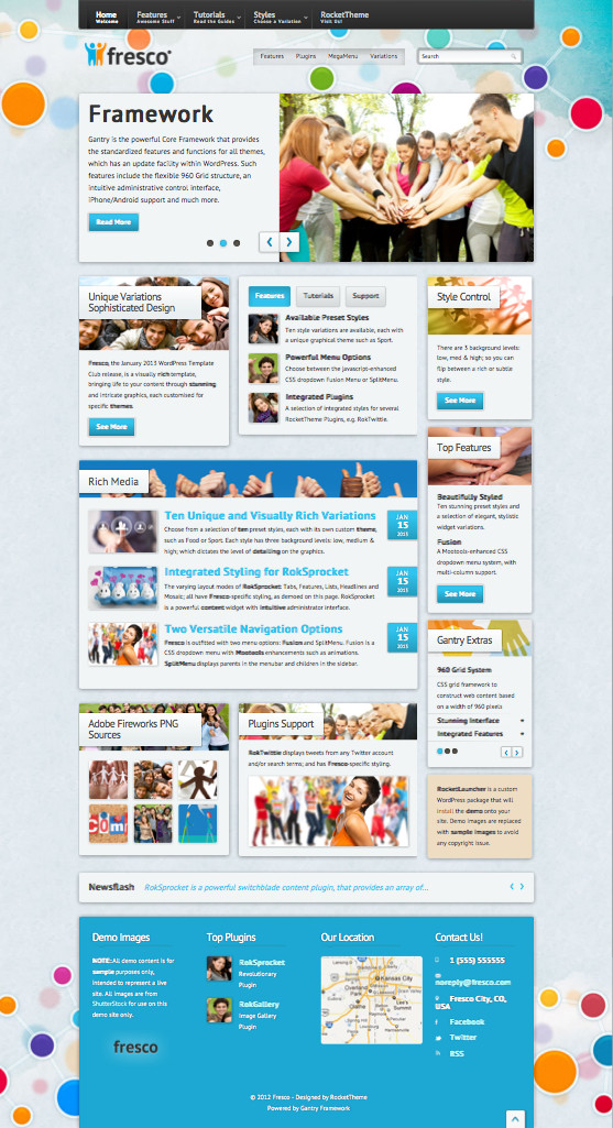 Fresco WordPress Theme