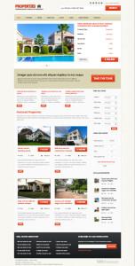Properties Responsive Joomla Real Estate Template