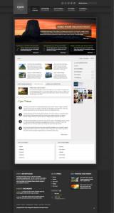 Cyan Responsive WordPress Theme