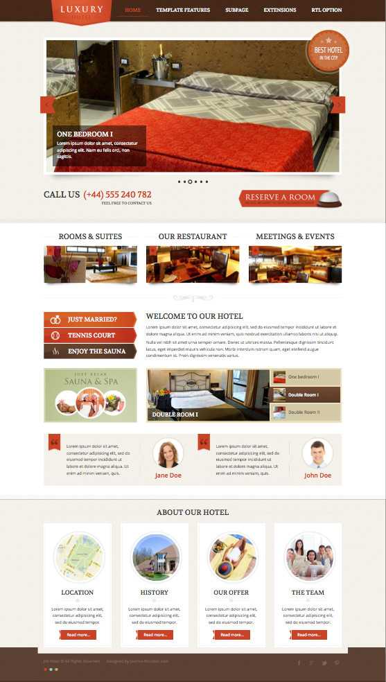 joomla hotel template jm hotel joomla template for luxury restaurants rooms