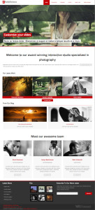 Photolicious Joomla Template for Photo Studio & Photographers