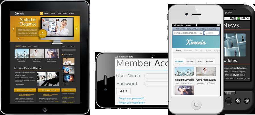 Ximenia iPhone, iPad, & Android Theme