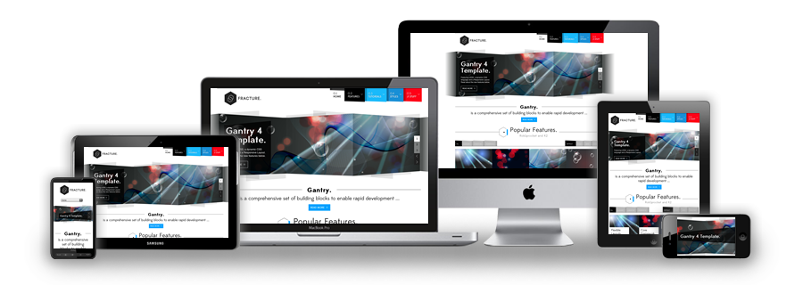 Fracture Responsive WordPress Theme
