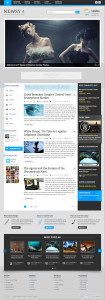 IT Newsy 4 Joomla Magazine Template & EasyBlog Component