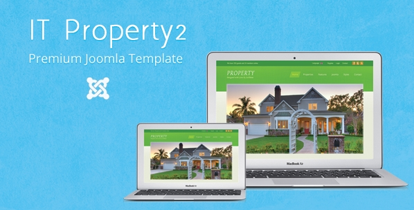IT Property 2 Joomla Realty Business Template