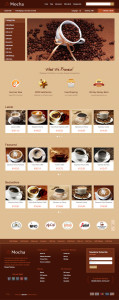 Ice Mocha OpenCart Theme for Coffee House, Restaurant, Bar or Bistro