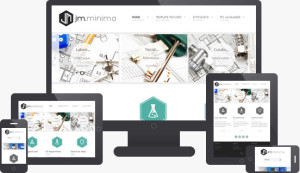 JM Minima Joomla J3.x Template for Presentation of Products & Services