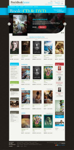 Prestheme Line PrestaShop Theme for Bookstore, Stationery, CD & DVD Stores