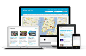 Responsive Geo Places WordPress Theme