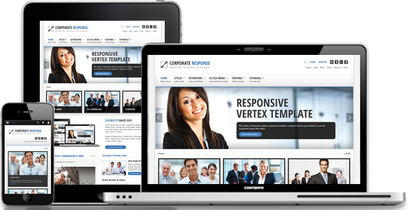 Corporate Response WordPress Theme