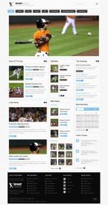Sportranks Joomla Sport Magazine Template