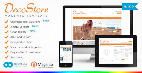 DecoStore Magento Theme