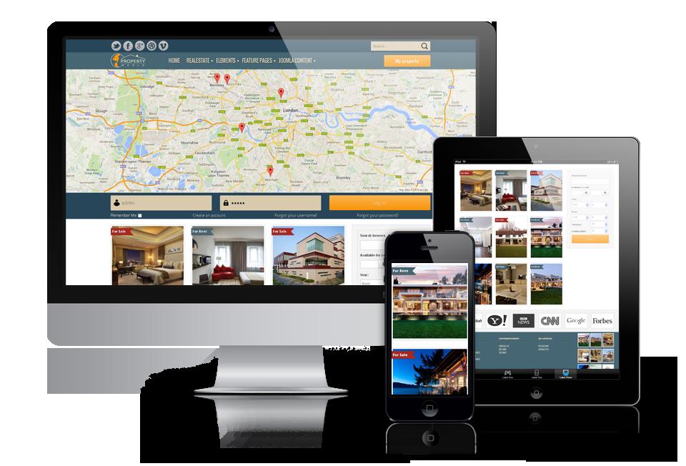 OS World Property Joomla Responsive Real Estate Template