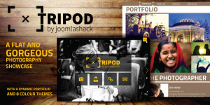 Tripod Joomla Photography Template
