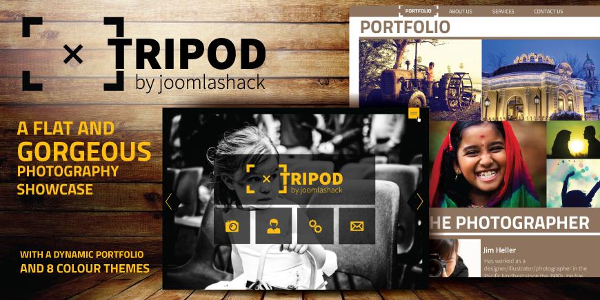 Tripod Joomla Photography Template