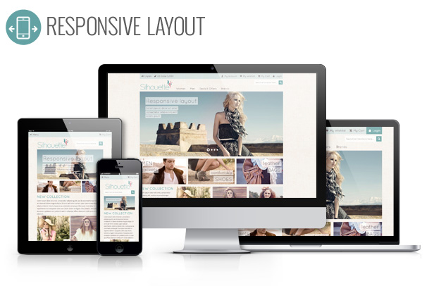 Silhouette Responsive Magento Template