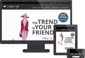 JM Fashion Trends Classifieds Portal Template