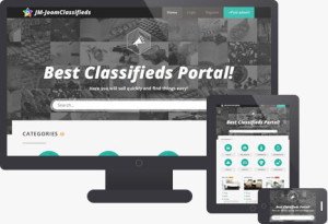 JM JoomClassifieds – Real Estate, Cars, Hotel Classifieds Portal Template