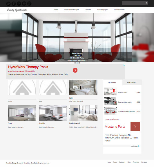 OS Luxury Apartments Template