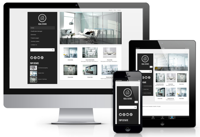 OS Royal Estate Joomla Template
