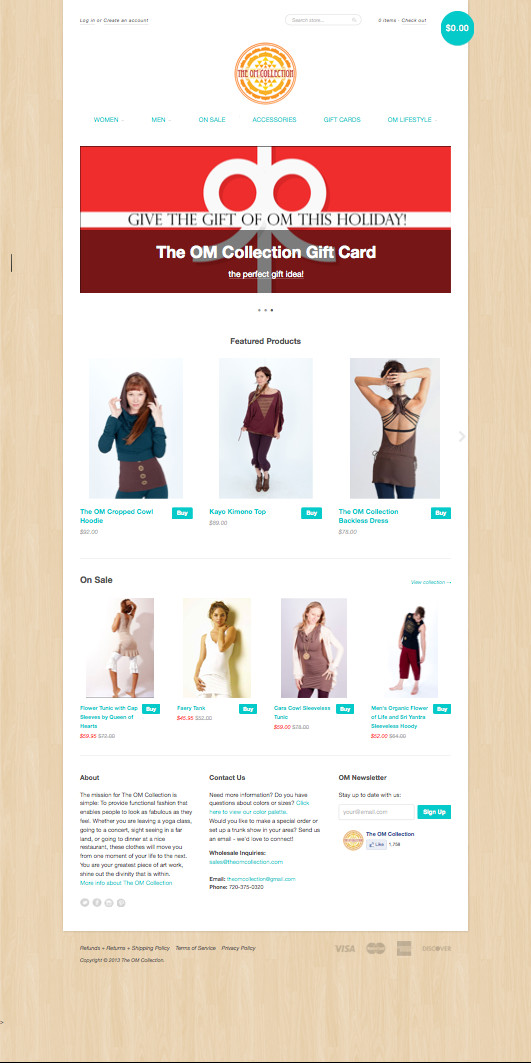 t shirt website template
