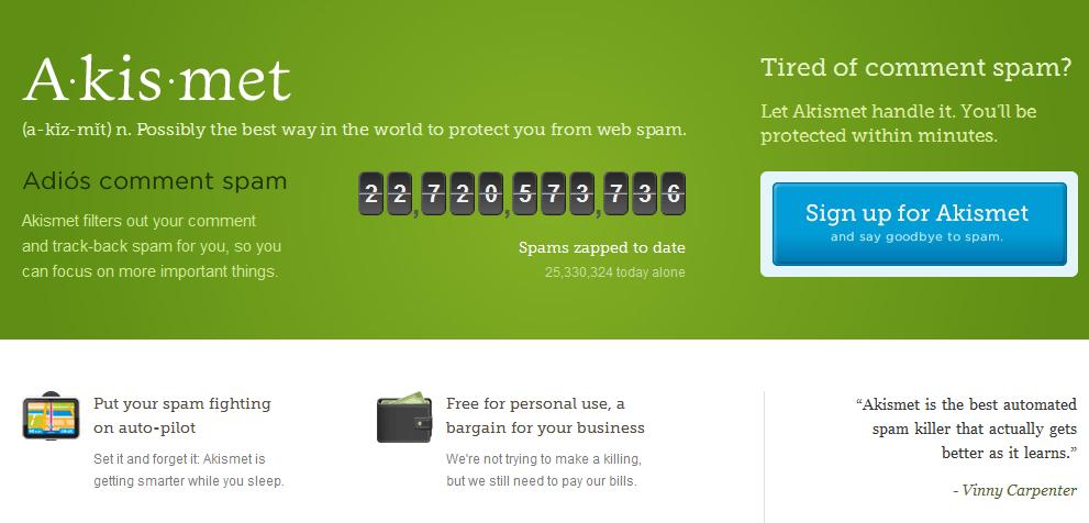 wp spam plugin