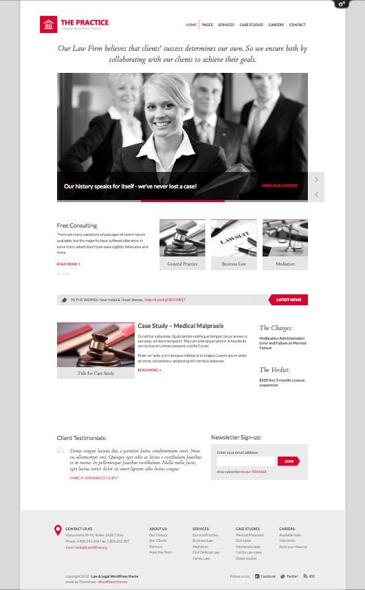 Lawyer WordPress Theme by ThemeFuse