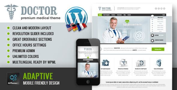 Doctor Universal Medical Theme